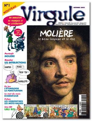 Portrait moli re virgule n 1 for Homonyme de farce
