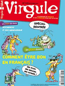 Virgule n° 143 - septembre 2016